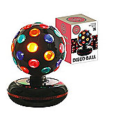 Multi-Coloured Rotating Disco Ball Light
