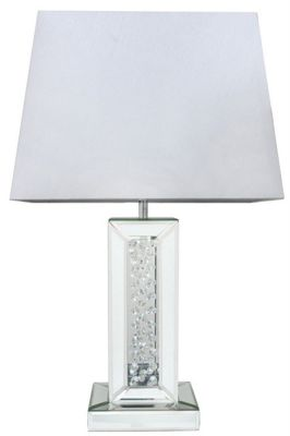 Mirror Astoria Table Lamp With Rectangular 17 Inch