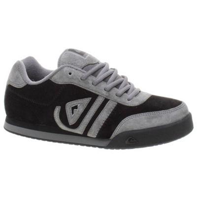Quiksilver Nias Nubuck Black Shoe