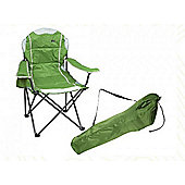 Summit Ultimate Padded Relaxer Chair Green