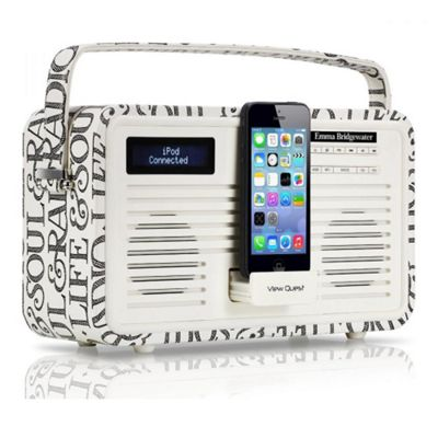 View Quest Hepburn DAB/DAB+/FM Radio and Bluetooth Speaker Emma Bridgewater