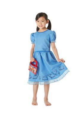 Roald Dahl Matilda Fancy Dress Costume Blue 3-4 years