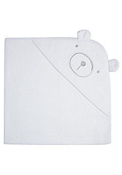F&F Bear Face Towel One Size White