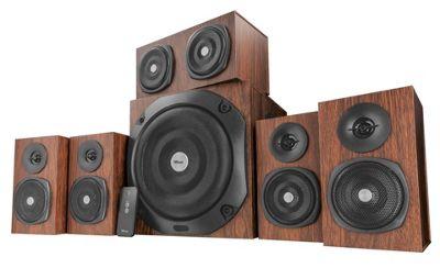 Trust Vigor 5.1 Surround PC Speaker System (Brown)
