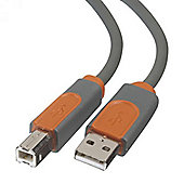 Belkin 3m USB 2.0 Cable A/B Grey