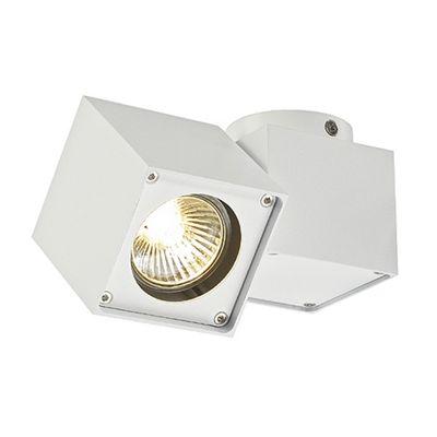 Altra Dice Spot Ceiling Light Square White Max. 50W