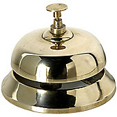 Ding - Solid Brass Desk / Hotel Style Bell - Gold