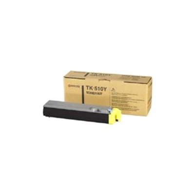 Kyocera TK-510Y Yellow (Yield 8,000 Pages) Toner Cartridge for FS-C5020 Colour Printer