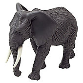 Realistic African Elephant Figurine Toy by Animal Planet