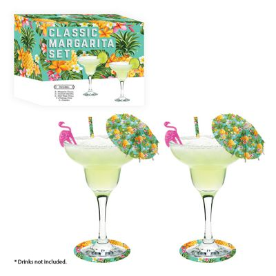 Margarita Cocktail Glass Gift Set