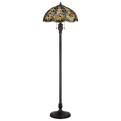 Imperial Bronze Floor Lamp - 2 x 100W E27