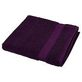 Tesco Hygro 100% Cotton  Towel, - Berry