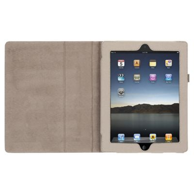 Griffin Elan Folio Canvas Case for Apple iPad 3/iPad 2 - Cream