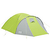 Trail Bracken 4-Man Dome Tent With Large Porch - Green