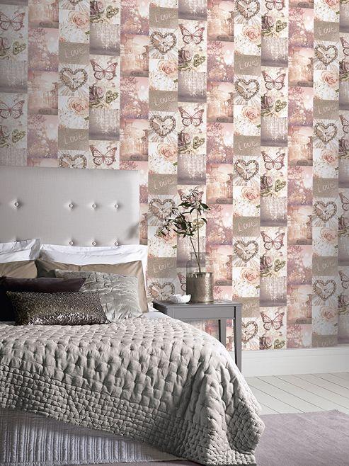 Love Paris Blush Wallpaper Arthouse 691107