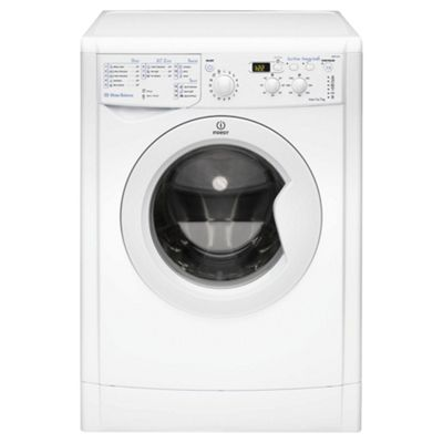Indesit IWD71251 Washing Machine, 7kg Wash Load, 1200 RPM Spin, A+ Energy Rating. White