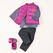 Our Generation Regular Dolls Outfit - Vest Friends Forever