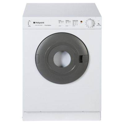 Hotpoint First Edition Vented Tumble Dryer, V4D 01 P (UK) - White