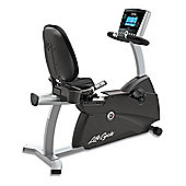 Life Fitness R3 Recumbent Exercise Bike with Go console