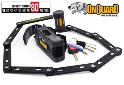 Onguard K-9 Heavy Duty Link Plate Lock 8114 112.5cm