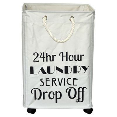 buy laundry hamper on wheels slim line from our laundry. Black Bedroom Furniture Sets. Home Design Ideas