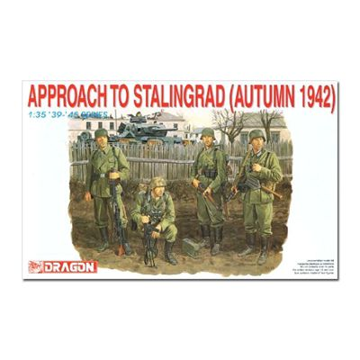 DRAGON 6122 Approach to Stalingrad 1942 1:35 Military Model Kit