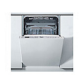 Whirlpool ADG522UK 10 Place Built In Steel Dishwasher