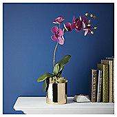 Fox & Ivy Cerise Orchid In Metallic