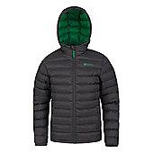 Mountain Warehouse 025350 Seasons Boys Padded Jacket - Grey