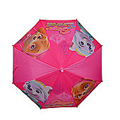 Children's Pink Paw Patrol Umbrella