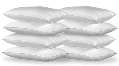 Happy Beds Cotton&Polyester Pack of 8 Pillows