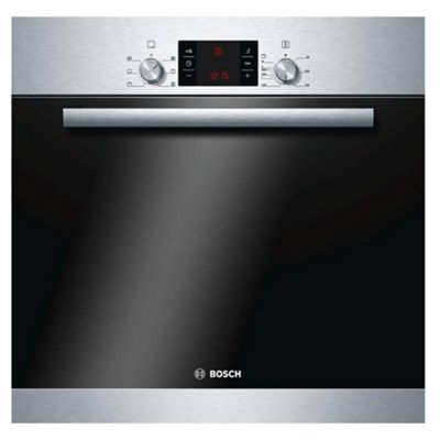 Bosch HBA43R150B 595mm Electric Single Oven with 66L Capacity in Stainless Steel