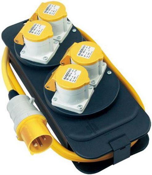 Brennenstuhl 1151413 Energy Station CEE 4 socket 4x 110V/16A