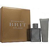 Burberry Brit Splash Gift Set 50ml EDT + 75ml Shower Gel For Men