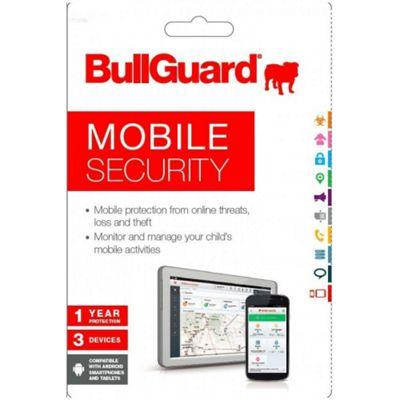 Bullguard Mobile Security (1 Year - 3 Users)
