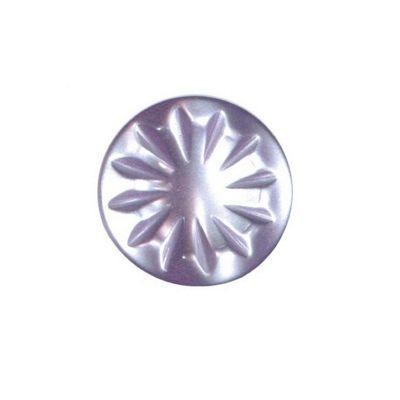Hemline Lilac Decorative Shank Buttons 15mm 5pk