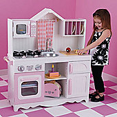 Modern Country Pretend Play Kitchen