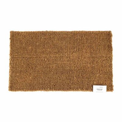 Homescapes Large Coir Natural Beige Doormat