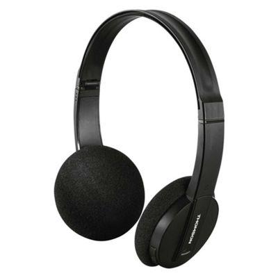 Thomson WP-6005BT Wireless Bluetooth Headphones in Black