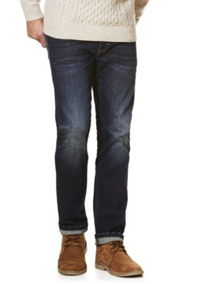 F&F Stretch Slim Leg Jeans 32 Waist 30 Leg Dark wash