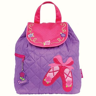 Toddler Backpacks, Kids Backpacks, Nursery Backpacks - Purple Ballet Shoes