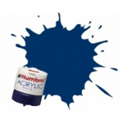 Humbrol Acrylic - 14ml - Gloss - No15 - Midnight Blue