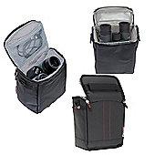 Navitech Black Protective Portable Binocular Case
