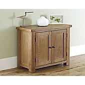 Worcester - Oak Storage Cupboard / 2 Door Cabinet