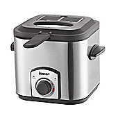 Igenix IG8012 1.2 Litre Mini Fryer - Brushed Stainless Steel