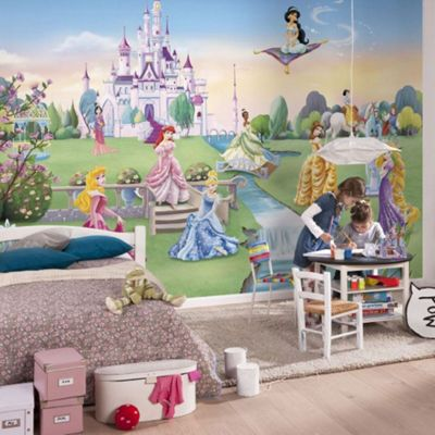 Disney Princess Princess Castle Kids Wallpaper Mural 368 X 254cm Part 21