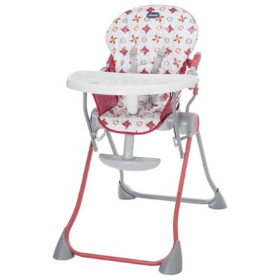 Chicco Pocket Meal Highchair, Red
