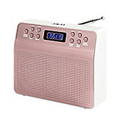 Akai Portable DAB Radio Alarm Clock