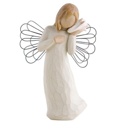 Enesco Willow Tree Thinking Of You Ornament