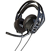 Plantronics RIG 500HS Wired 40 mm Stereo Headset - Over-the-head - Circumaural - Black